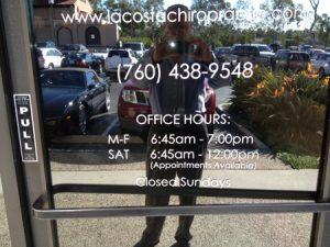 La Costa Chiropractic Entrance